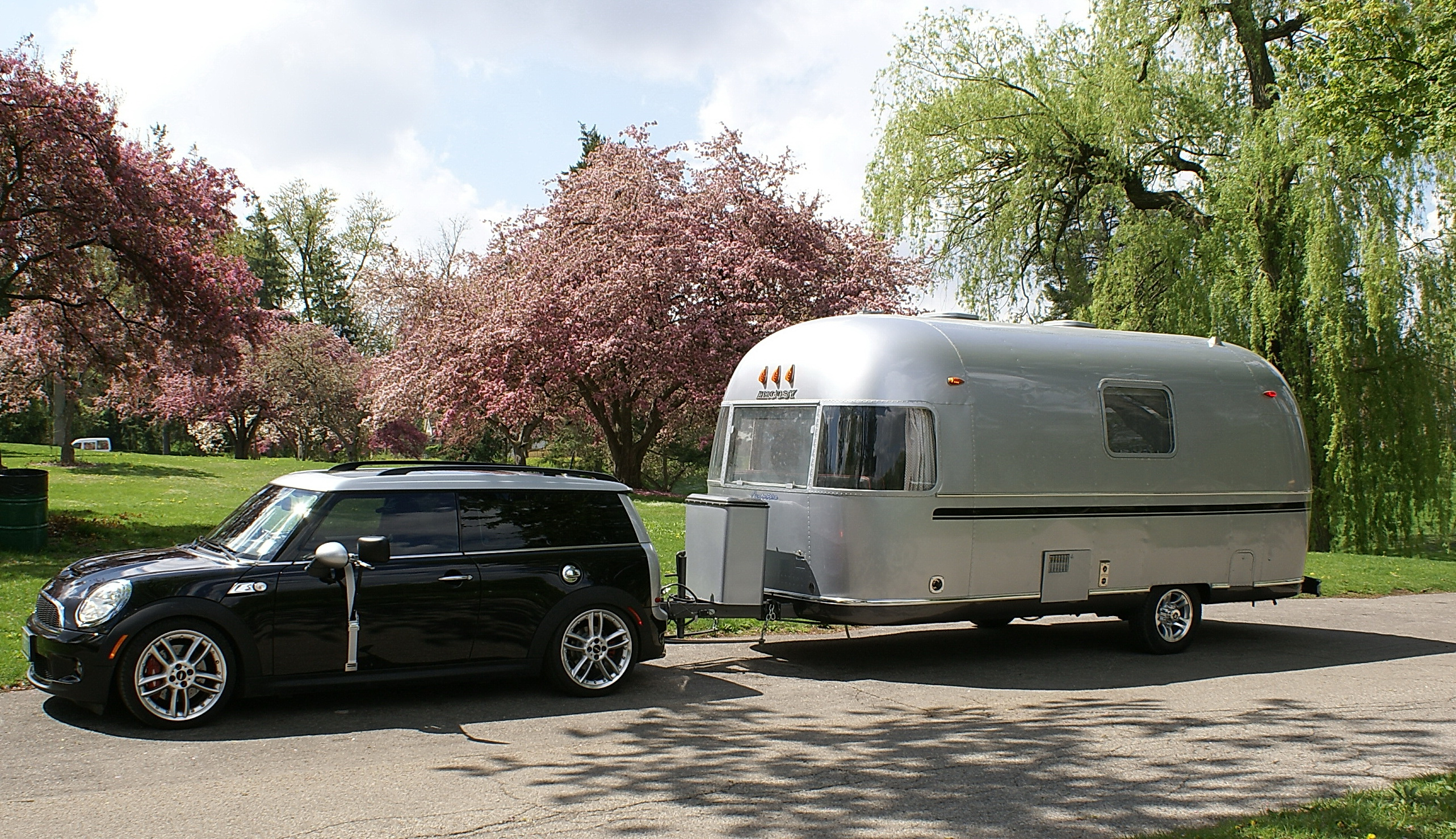 Mini Cooper And Airstream By Can Am RV Glamper