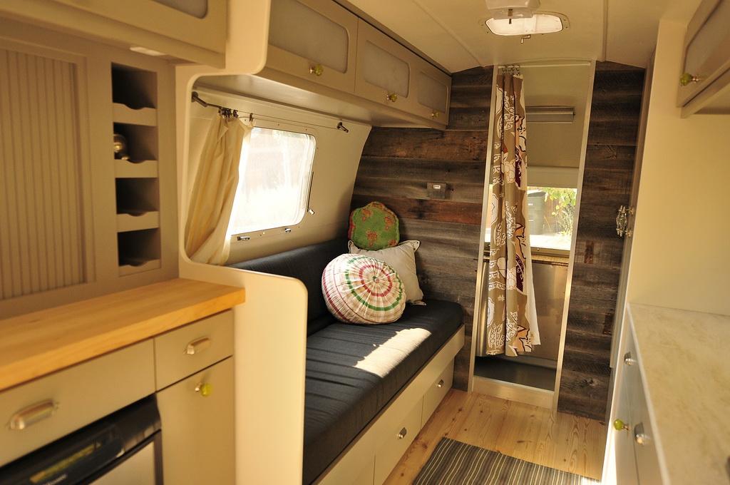 Renovation Trailers Caravans Interiors Rustic Charms Rustic Interiors Airstream Interiors